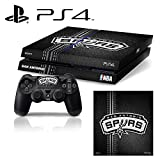[PS4] NBA #3 San Antonio Spurs Whole Body VINYL SKIN STICKER DECAL COVER for PS4 Playstation 4 System Console and Controllers by Ci-Yu-Online [並行輸入品]