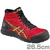 [asics working] 安全靴・作業靴  FCP104 2394 トゥルーレッド/ゴールド 26.5