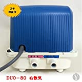 2年保証付!テクノ高槻 DUO-80(CP-80W後継機種) 右散気 浄化槽ブロワー 逆洗タイマー付