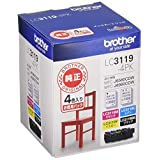 brother 純正インクカートリッジ大容量 4色パック LC3119-4PK