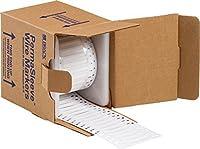 Brady 3FR-125-2-WT-2 Shrink Tubing PermaSleeve Heat-Shrink Polyolefin 2.000 W x 0.235 H (50.800 mm x 6.000 mm) White (Pack of 5000) [並行輸入品]