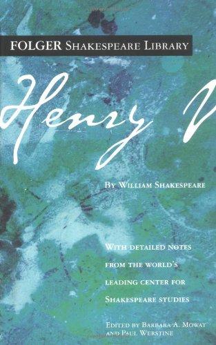 Henry V (Folger Shakespeare Library)