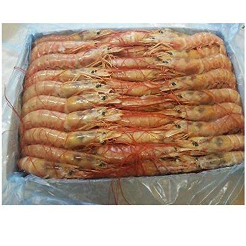 冷凍アルゼンチン赤エビ 8kg(2kg×4BL)10/20 尾規格