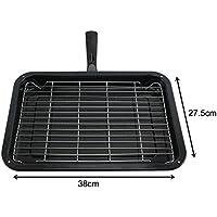 spares2go Smallグリルパン、ラック&取り外し可能ハンドルfor Cataオーブン調理器