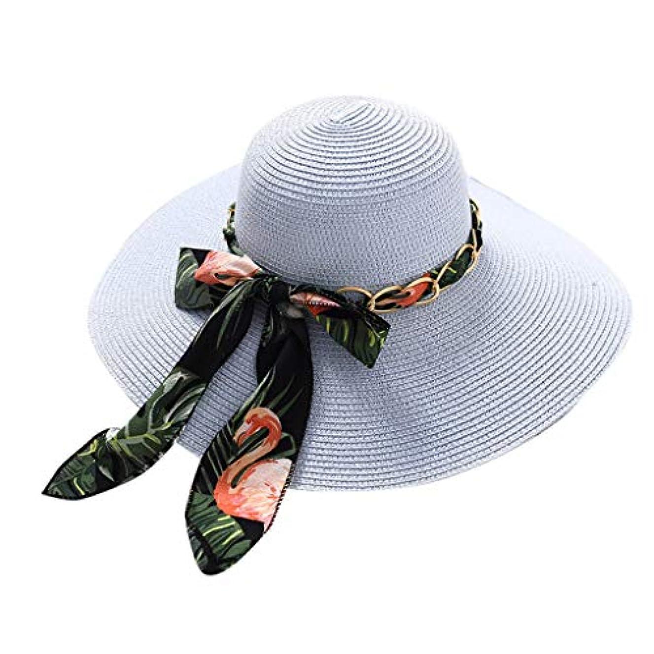 もっともらしいハミングバードクラックポットファッション小物 夏 帽子 レディース UVカット 帽子 ハット レディース 紫外線対策 日焼け防止 取り外すあご紐 つば広 おしゃれ 可愛い 夏季 折りたたみ サイズ調節可 旅行 女優帽 小顔効果抜群 ROSE ROMAN