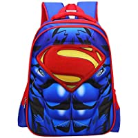 Waterproof Spiderman 3D Backpack School Backpack Comic Super Hero Design School Bag Student Bookbag Spiderman for Kids