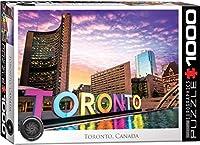 トロント オンタリオの1000ピースパズル。
