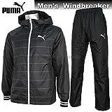 PUMA ウインドブレーカー PUMA プーマ 裏起毛 ウィンドブレーカー ジャケット パンツ 上下 514760 514761 01 ブラック