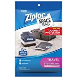 Ziploc Space Bag, Travel Bags - Poly Pack, 2 pack