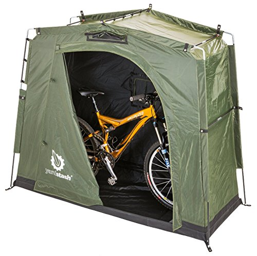 YardStash社 省スペース 屋外 自転車ストレージ YSLH05