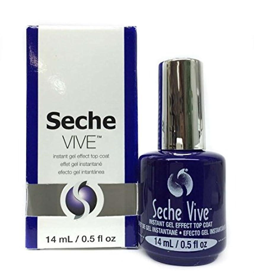 軍関係ないインデックス(3 Pack) SECHE Vive Instant Gel Effect Top Coat (並行輸入品)