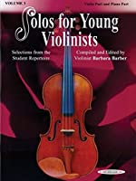 Solos for Young Violinists: Piano Part/Violin Part
