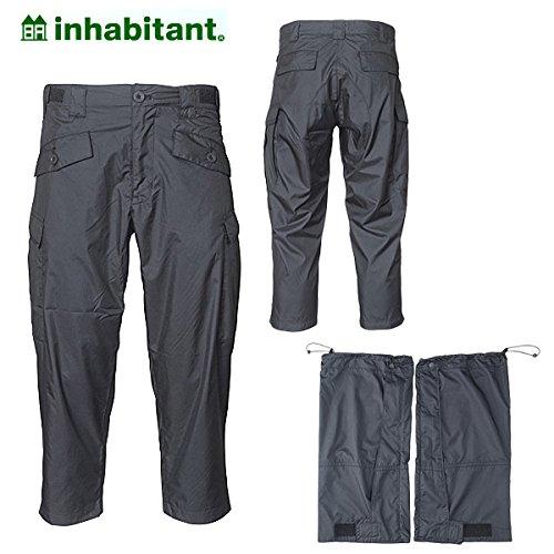 (インハビタント)inhabitant ih152pa50x-bk ボトムス LONGPANTS LEG BARRIER/BK IH152PA50X 30