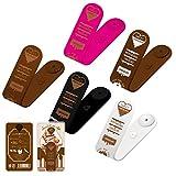 JAPAEMO マグネット 万能 多機能 クリップ チョコレートデザイン 5色セット