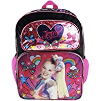 "JoJo Siwa 16"" Deluxe Backpack - Colourful Bow Collection - A19036"