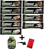 Muscle Pharm (マッスルファーム), COMBAT コンバットクランチ プロテインバー バラエティパック 9 Bars [並行輸入品]