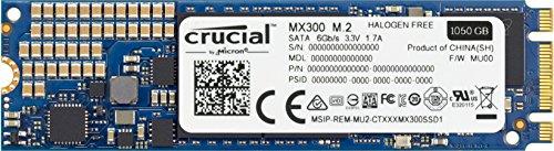 Crucial [ Micron製 ] 内蔵SSD MX300 1TB ( 3D TLC NAND / M.2 Type / 3年保証 )国内正規品 CT1050MX300SSD4/JP