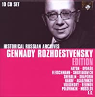 Gennady Rozhdestvensky Edition (Historical Russian Archives)