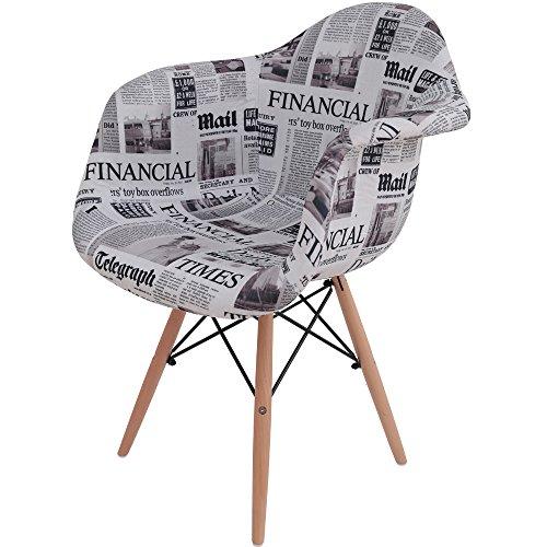 椅子 イームズチェア デザイナーズ リプロダクト パッチワーク英字 DN1002