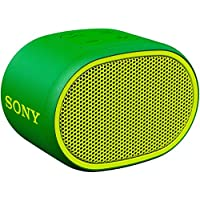 ソニー SONY ワイヤレスポータブルスピーカー SRS-XB01 G : 防水 Bluetooth スマホなしで操作可能 ストラップ付属 2018年モデル グリーン