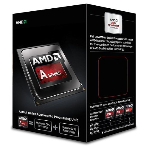 AMD 【並行輸入品】 A6-6400K Richland 3.9GHz Socket FM2 65W Dual-Core Desktop Processor AMD Radeon HD AD640KOKHLBOX