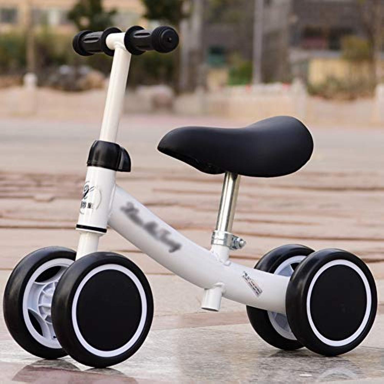 YINGERCHRE おもちゃ 乗馬 ベビー バランス バイク ペダルなし 幼児 トライサイクリング ミニ ベビー ウォーカー 12~36ヶ月 初めての誕生日プレゼント 幼児用自転車