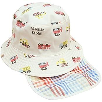 c5ded32d31451 アダ二ナ)Adanina ベビー用ハット つば広 赤ちゃんキャップ キッズ 帽子 子供