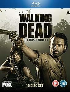 The Walking Dead Season 1 - 4 Complete Box / ウォーキング デッド シーズン 1 - 4 コンプリート ボックス [ Blu-ray] [Import]