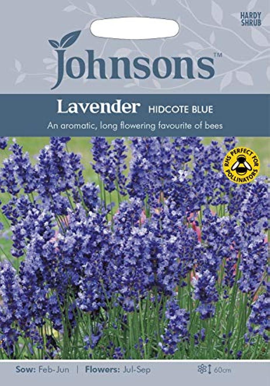 雨のコーナー殺人者種子パッケージ:3:ジョンソンシードラベンダーHidcoteSeed