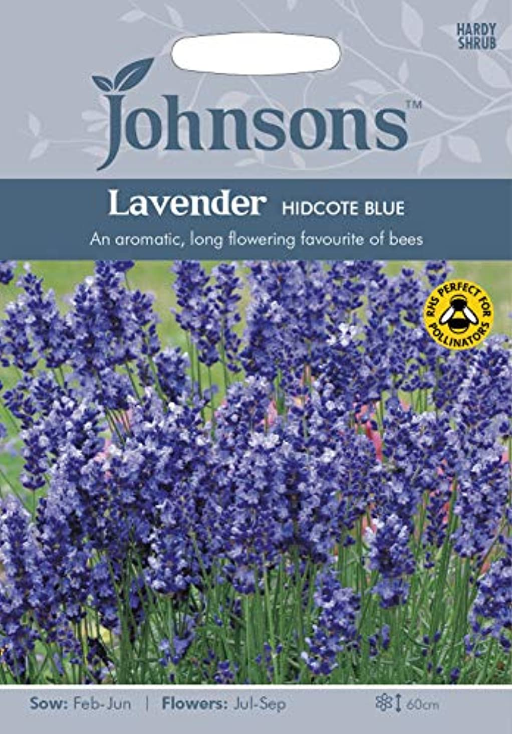 震える毎週動機種子パッケージ:3:ジョンソンシードラベンダーHidcoteSeed