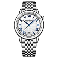 Dreyfuss and Co DLB00148-01 レディースシリーズ 1925 シルバースチール 自動巻き腕時計