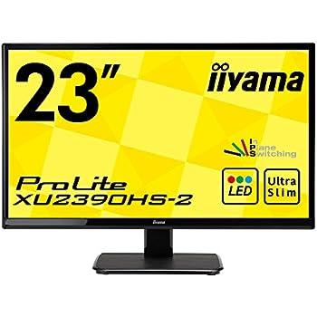 iiyama IPS モニター ディスプレイ XU2390HS-B2 23インチ/フルHD/スリムベゼル/HDMI端子付
