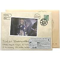 【外付け特典あり】ヴァイオレット・エヴァーガーデン4 [ Blu-ray](初回限定ワンピースBOX+特製スリーブ(特製切手貼り+消印捺印) 仕様)(「ビジュアルコレクション」(A5サイズ小冊子)&封筒(A5変型サイズ) 付)
