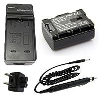 バッテリー+充電器for JVC Everio gz-hm300bu、gz-hm320bu、gz-hm340bu HDフラッシュメモリビデオカメラ