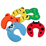 WMA 5x Baby Kids Door Jammer Finger Pinch Guard Child Toddler Infant Safety Protector Stopper Cute Animal Designs