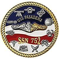 北西準州ミントUSS PASADENA (パサデナ) Challenge Coin