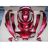シグナスX SE44J 外装 カウル 12点セット 赤 ワインレッド 社外新品