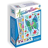 Aquarellum Mini: Schmetterlinge: Das Imaginäre an der Spritze des Pinsels