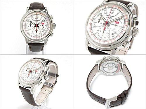 [ショパール] Chopard ミッレ ミリア 腕時計 ウォッチ メンズ ステンレススチール(SS)xレザーベルト 168511 [中古]