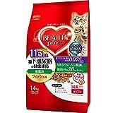 ビューティープロ ビューティープロ キャット 猫下部尿路の健康維持 低脂肪 11歳以上 フィッシュ味 1.4kg
