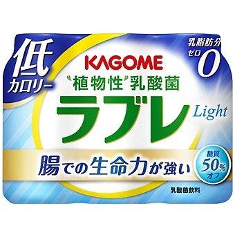 カゴメ 植物性乳酸菌ラブレ Light 80ml×3P 12パック