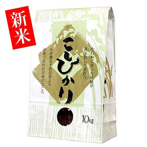 法要の引出物に【新米・玄米】新潟米コシヒカリ 10kg [新潟産こしひかり]