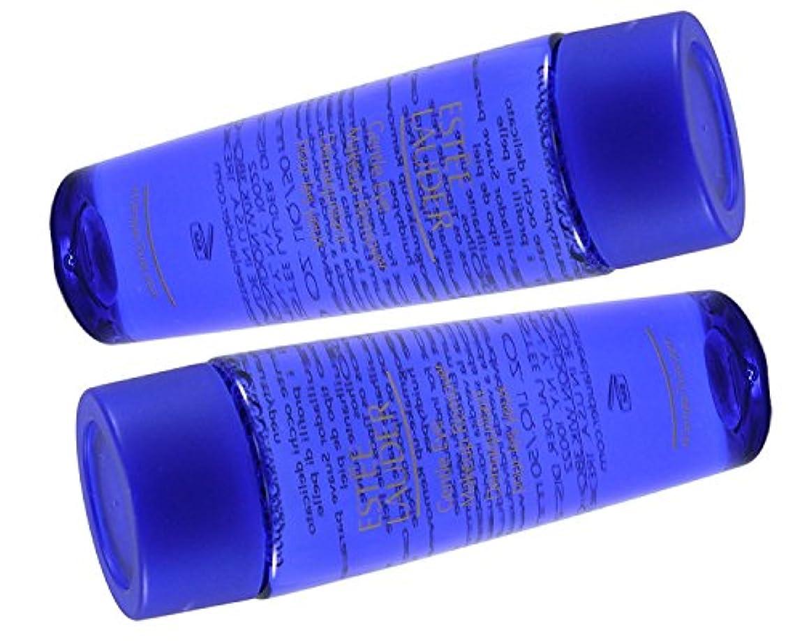 ベーカリースポンジ名目上のEstee Lauder ジェントルアイメイクアップリムーバー3.4オズ(2 * 50ML / 1.7Ozボトルのロット)