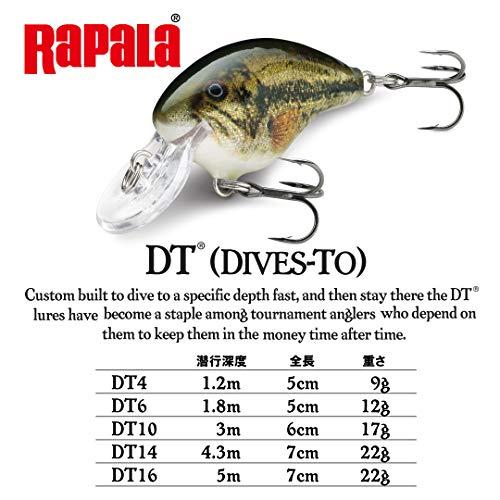 ラパラ(Rapala) ダイブストゥ 5cm 9g DT DIVES-TO マルディグラ
