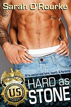 Hard as Stone (Passion in Paradise - The Men of the McKinnon Sisters Book 2) by [O'Rourke, Sarah]