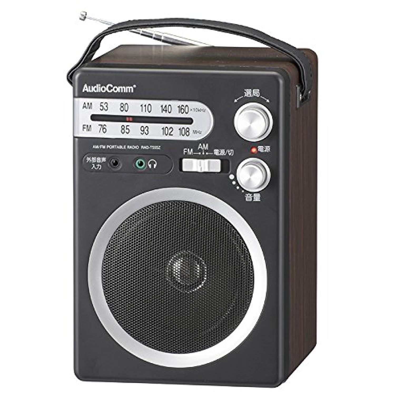 オーム電機 ラジオ ブラック 幅13.5×高さ21×奥行13.2cm(キャリーバンド、突起物含まず)