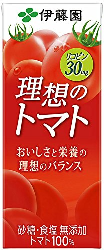 理想のトマト 紙パック 200ml ×24本