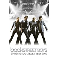 Backstreet Boys THIS IS US Japan Tour 2010 初回限定デラックス盤