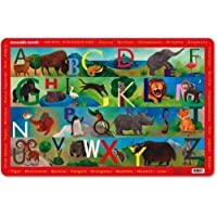 Crocodile Creek Animal Kingdom ABC Placemat by Crocodile Creek [並行輸入品]