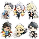 きゃらふぉるむ ユーリ!!! on ICE アクリルストラップコレクション Vol.2 BOX商品 1BOX = 6個入り、全6種類